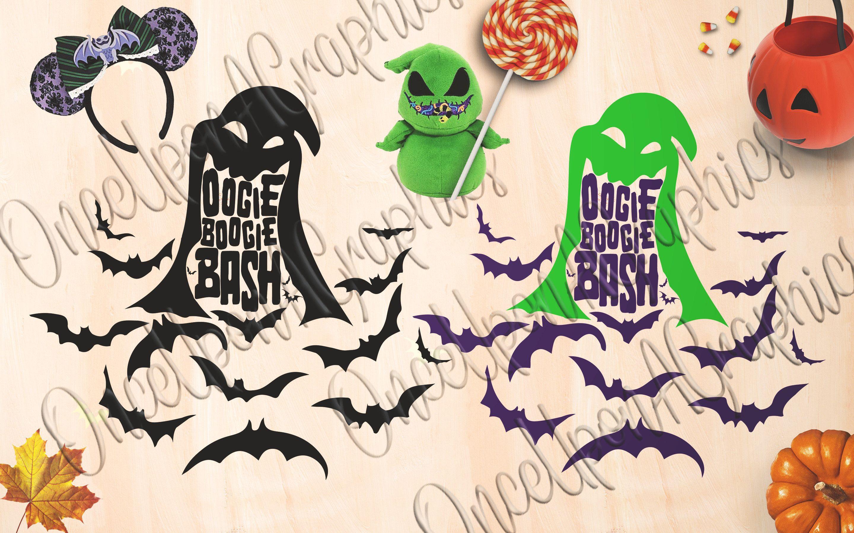 Oogie Boogie Bash, Disney Halloween, Oogie Boogie SVG