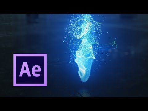 Fluid Simulations With Particular After Effects Tutorial