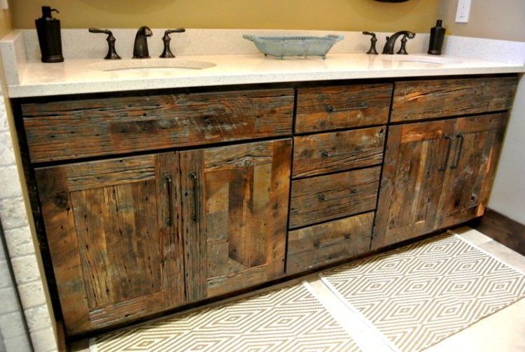 15 Different Types Of Bathroom Cabinets Reclaimed Wood Kitchen