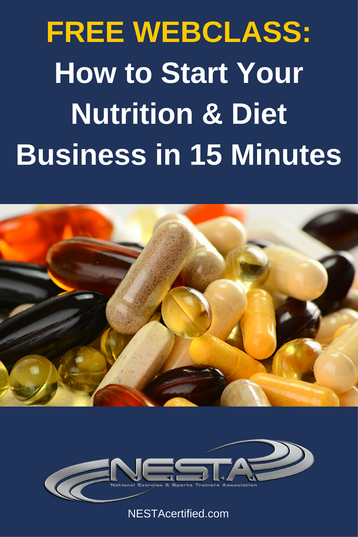 Nutrition Business Webinar Replay Personal Training Business Fitness Marketing Nutrition