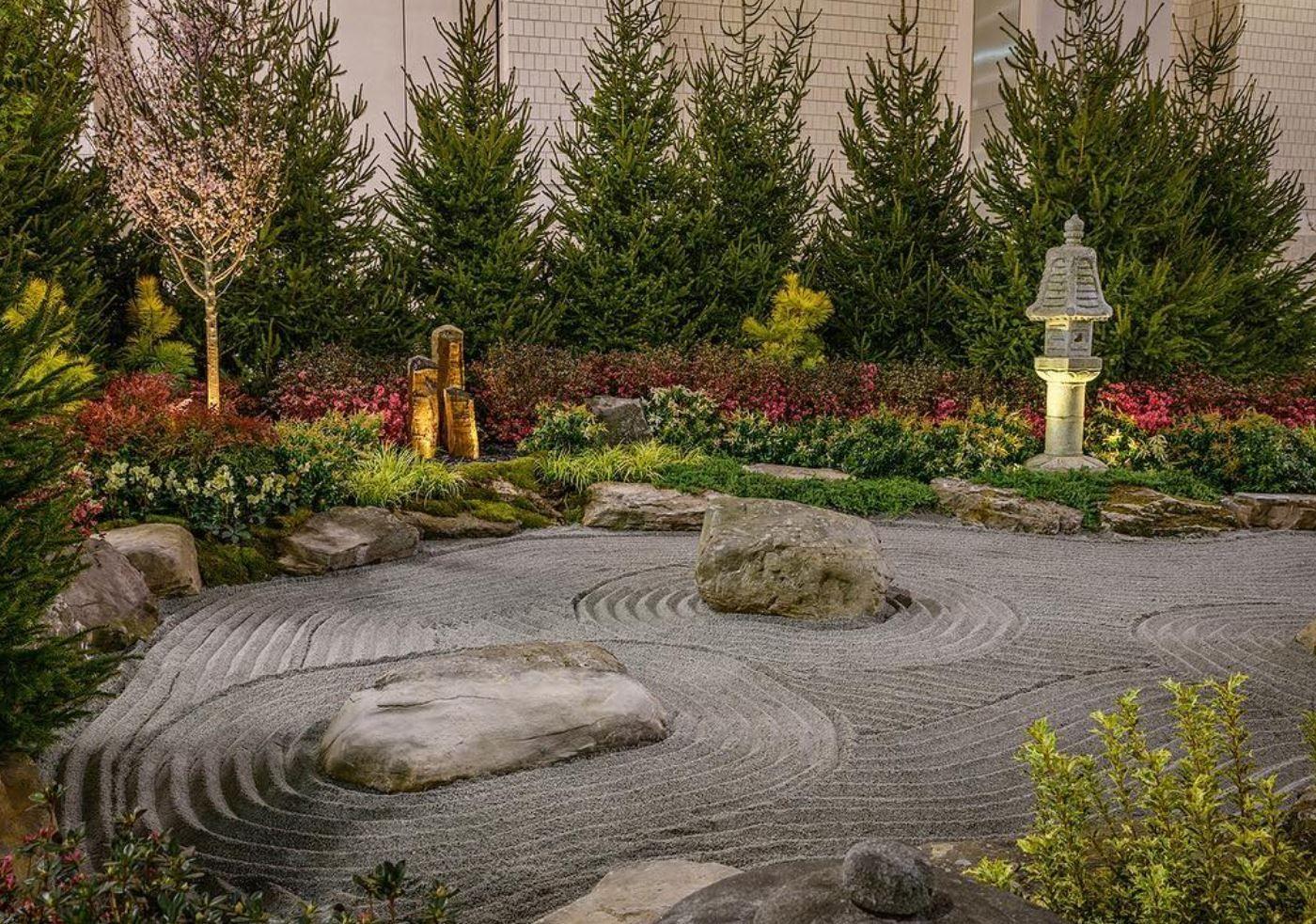 Zen Garden Theme   Philadelphia Flower Show   Pinterest   Garden theme