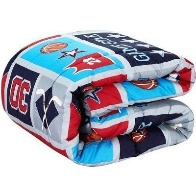 Twin Athletics Bed in a Bag Blue - Heritage Club
