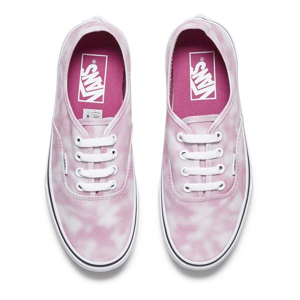 Vans Women s Authentic Tie Dye Trainers - Rose Violet found on Polyvore  featuring shoes 78d3db96ac