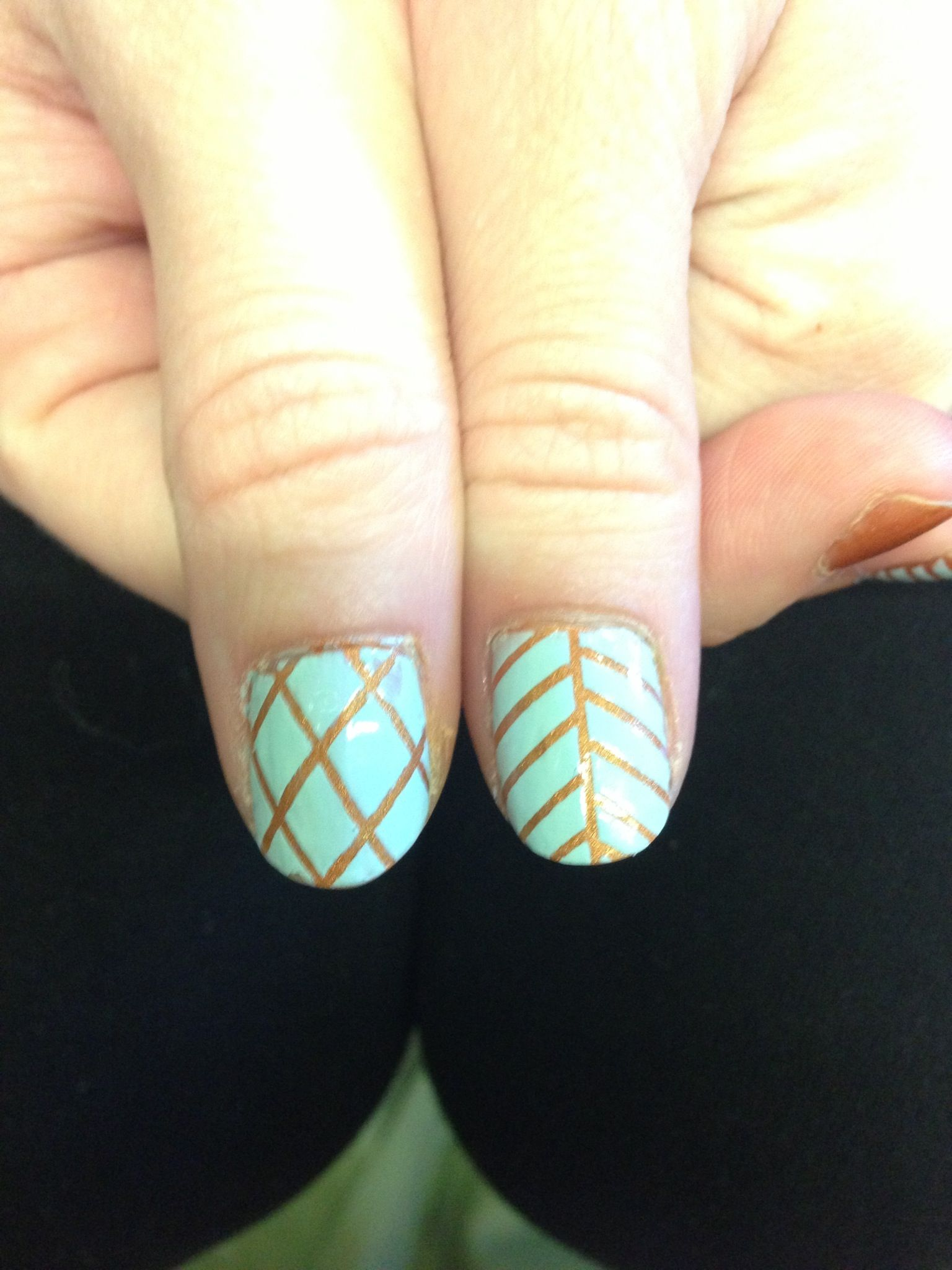 How to make your own striping tape for nail art nails