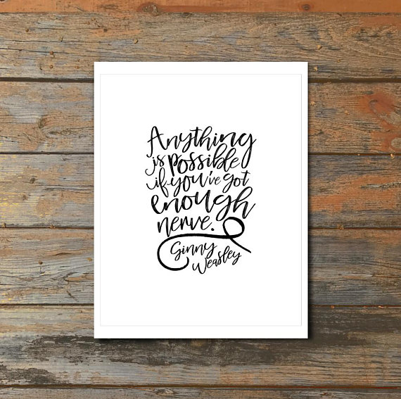 Harry Potter Wall Art Anything Is Possible If You Ve Got Enough