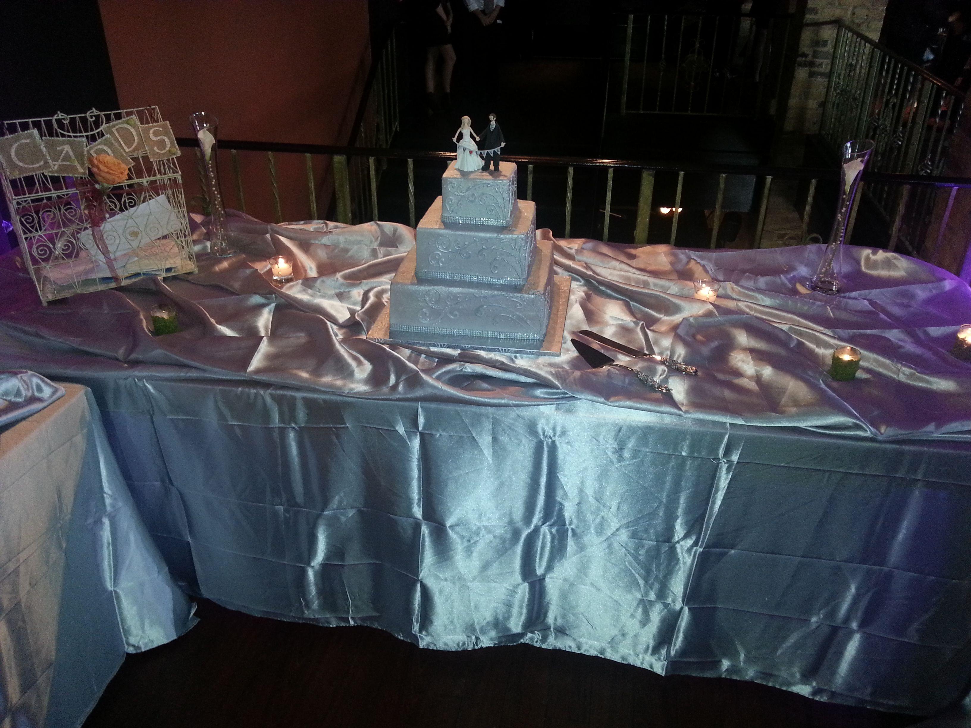 Wedding Present Table Pinterest : Cake & Gift Table Setup Wedding Receptions Pinterest