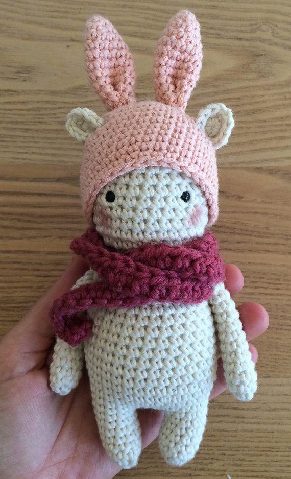 Pattern Bunny Bear Amigurumi Pattern By Kedito Pdf File Download