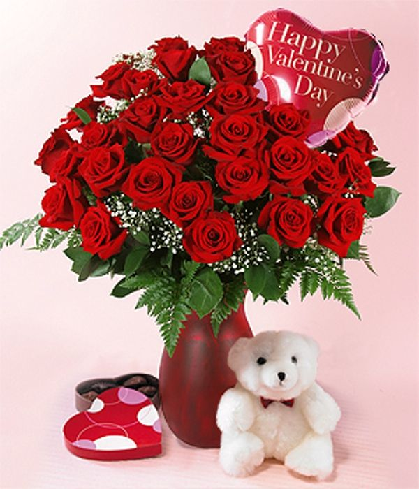 Cute valentine day flower wallpaper in hd happy - Valentine s day flower wallpaper ...