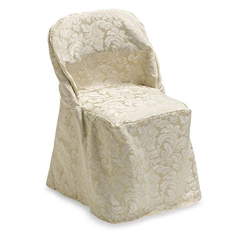 Buy Ashbury Scroll Folding Chair Cover From Bed Bath Beyond