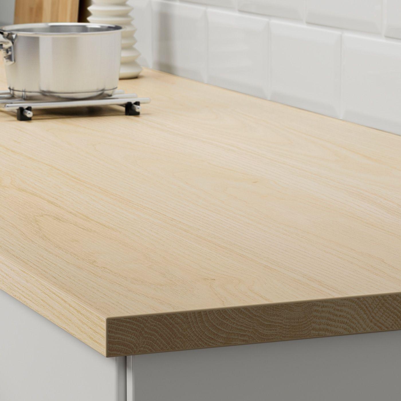 Ikea Ekbacken Ash Effect Laminate Countertop In 2020