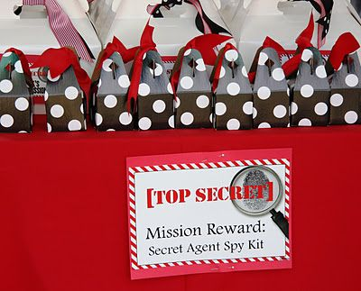 Mission Impossible Birthday Banner Custom Party Backdrop Decoration