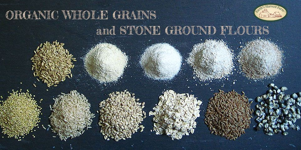 Grain and Flour from our Mill