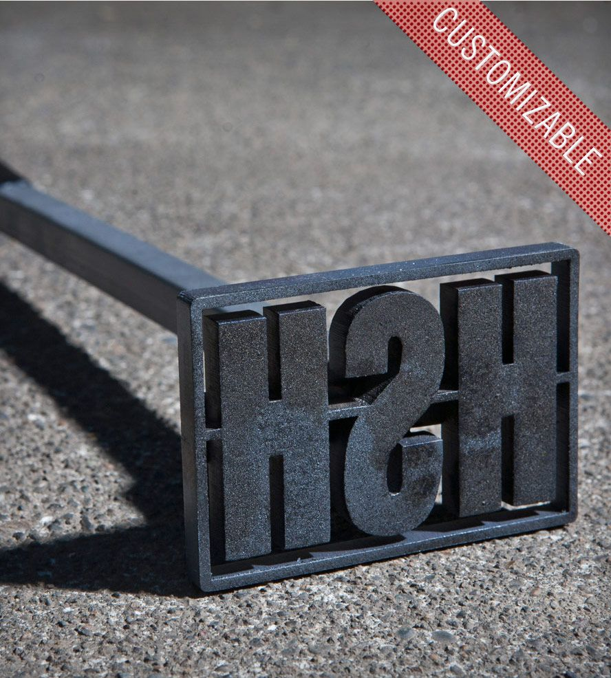 custom steel branding iron is used to sear your initials into any number of soft things that will singe leather wood a thick juicy steak