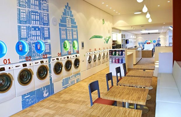 Launderette Interior Design Google Search Laundry Shop