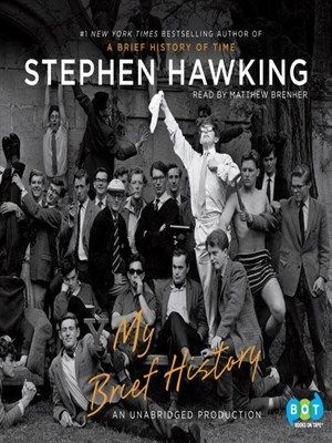 Image result for stephen hawking my brief history