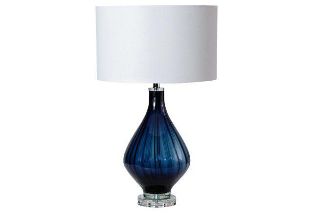 Elise Table Lamp Cobalt Elise Table Lamp Lamp Table Lamp