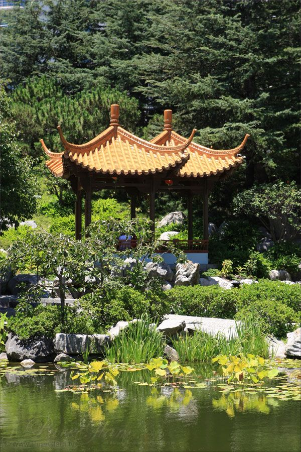 Beautiful Chinese Garden of Friendship moments of Asia