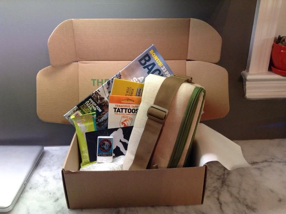 Outdoor Subscription Box For the Outdoors man In Your Life!