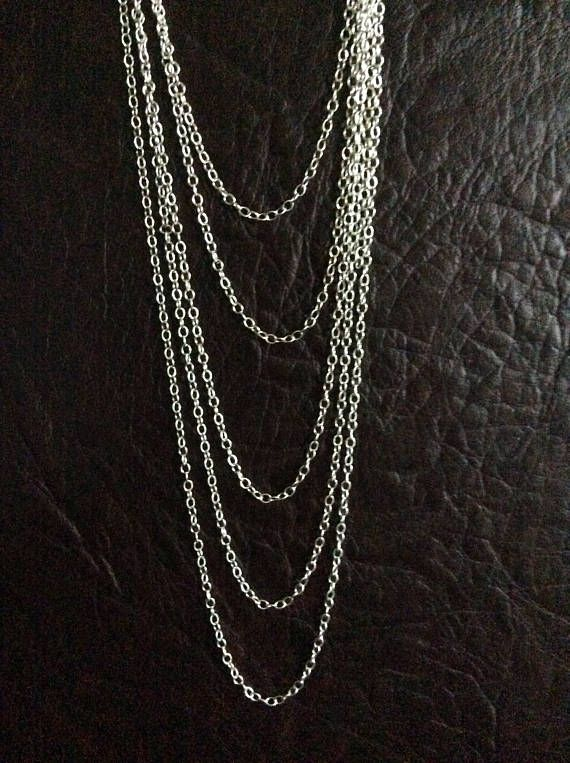 925 sterling silver cable chain link size 318 x 246 mm 013 x 925 sterling silver cable chain link size x mm x inch wire thickness mm price for 2 meter chains greentooth Image collections