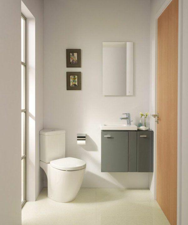 Kleines Bad Ideen - platzsparende Badmöbel und viele clevere - badezimmer aufteilung neubau