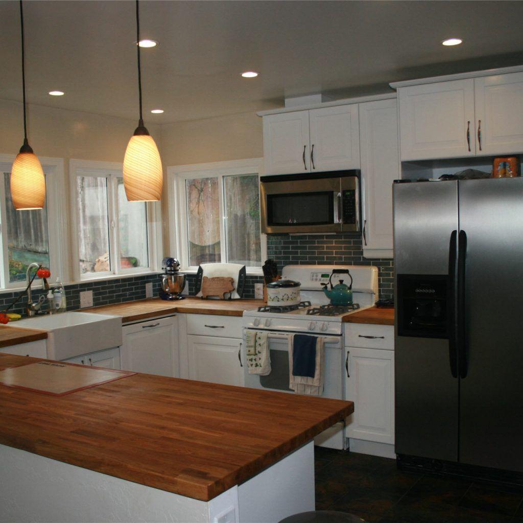 Kitchen ideas butcher block countertops kitchen pinterest