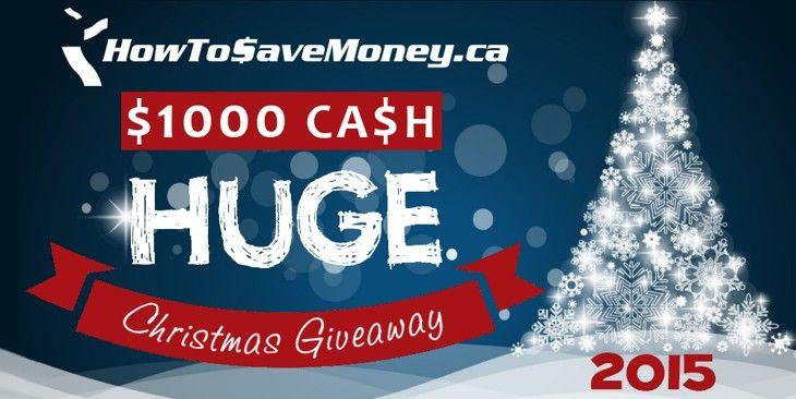 $1000 Cash HUGE Christmas Giveaway 2015! | TP | Pinterest