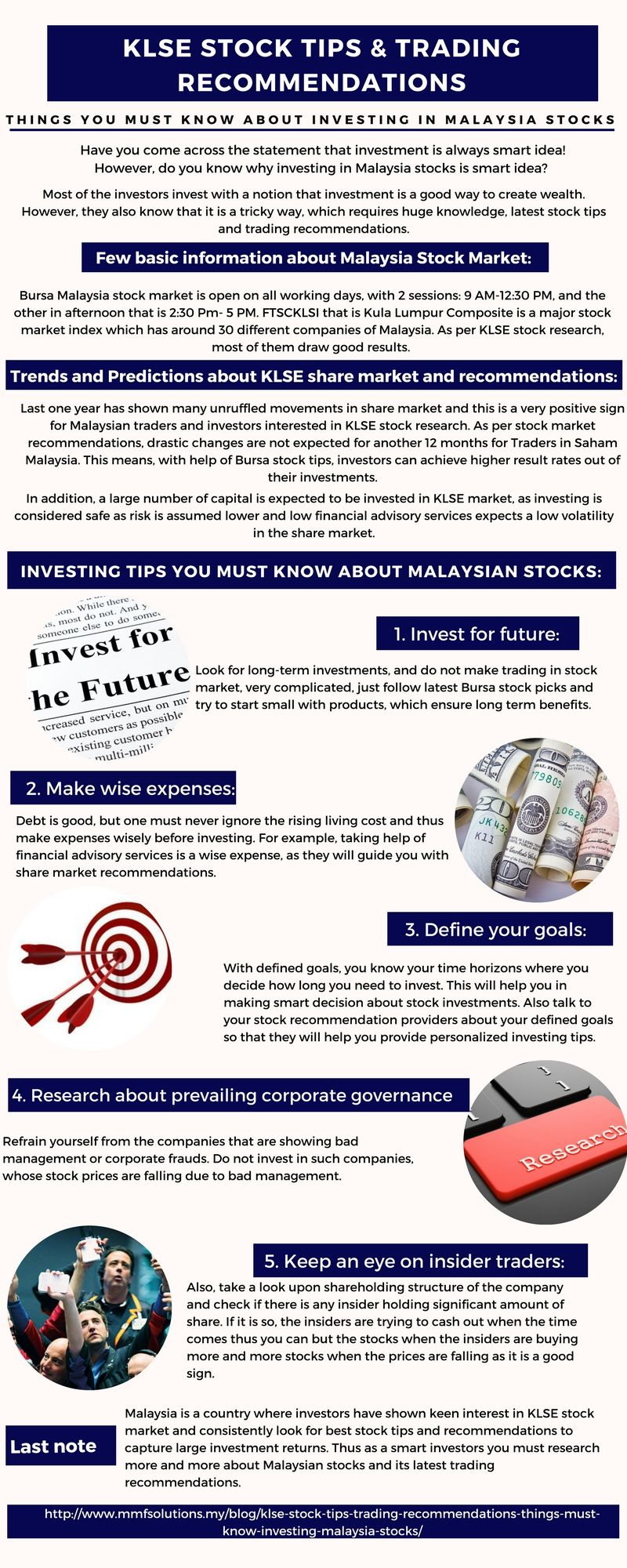 Investing Tips you must know about Malaysian stocks | Infographic