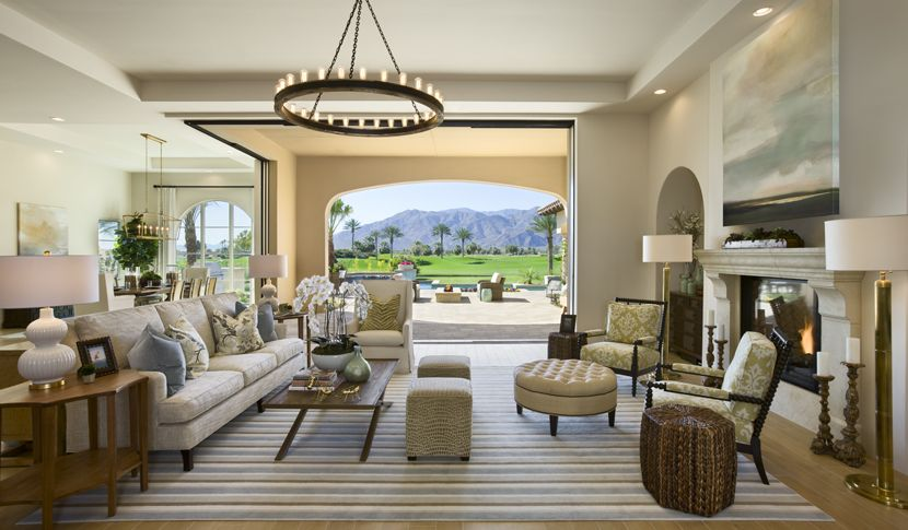 Desert Design, Greystone At Andalusia, La Quinta California. Mid Century  Modern Home Design