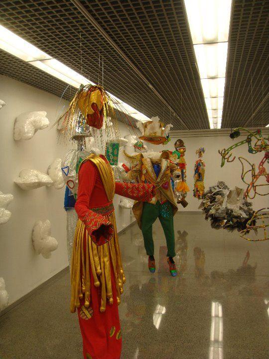 exposição Bonecos invisíveis - carnaval