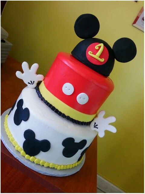Mickey Mouse Clubhouse Birthday Cake My Work Love Decorating