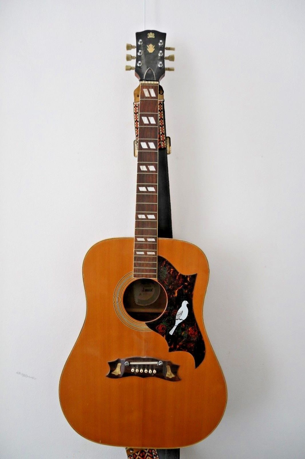 Vintage Gibson Dove Copy by Cimar. Made in Japan