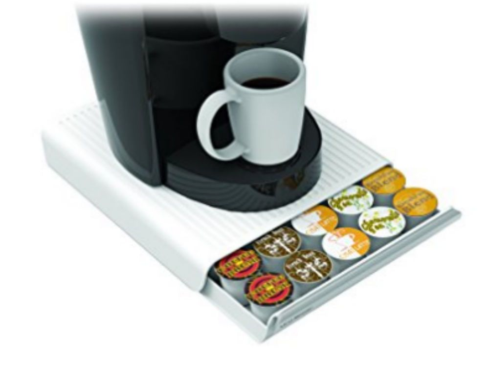 Black by Mind Reader Mind Reader Coupe 30 Capacity Coffee Pod Drawer
