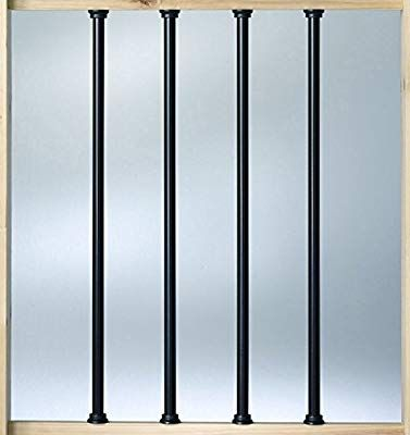 Best Deckorators Aluminum 36 Balusters Black 10 Pack 400 x 300