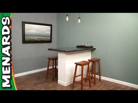 Tremendous Build A Concrete Pub Table How To Menards Home Decor Gmtry Best Dining Table And Chair Ideas Images Gmtryco