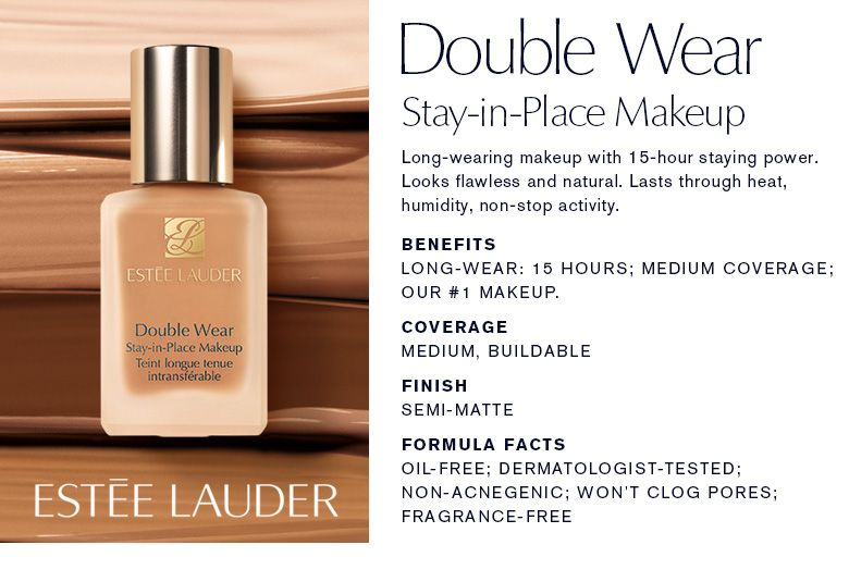 Estée Lauder Double Wear Foundation Shade Finder | Makeup | Estee