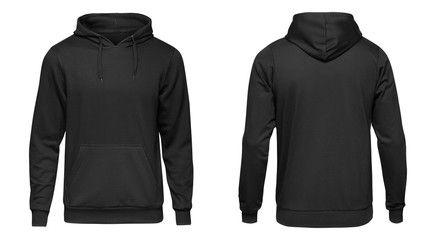 Download Blank Black Male Hoodie Sweatshirt Long Sleeve With Clipping Path Mens Hoody With Hood For Your Design Mockup For P Hoodies Sweatshirts Hoodie Long Sweatshirt
