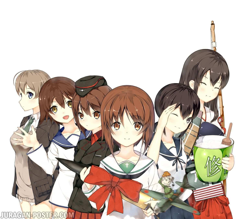 jual poster anime girls und panzer