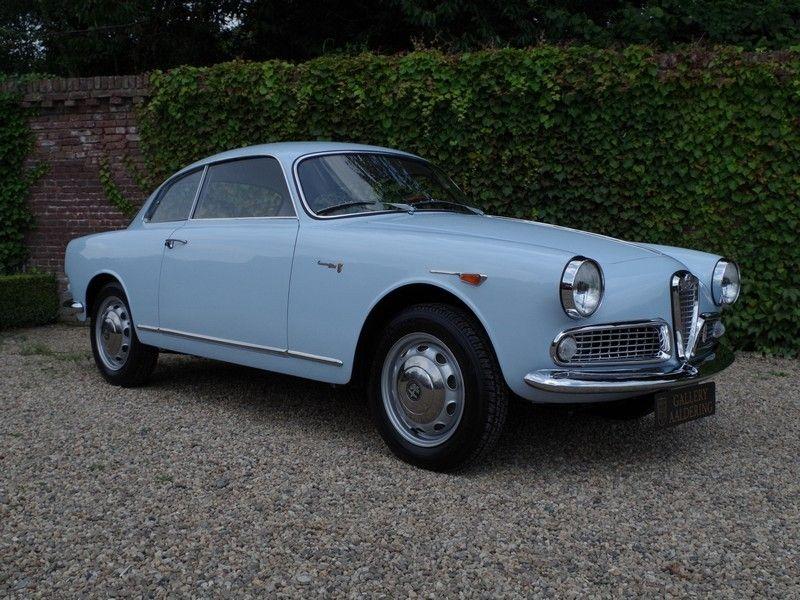 Alfa Romeo Giulietta Sprint Coupé 1960 | Gallery Aaldering