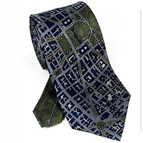 CIVITAS Map of Washington DC Silk Necktie httpwwwyourneckties