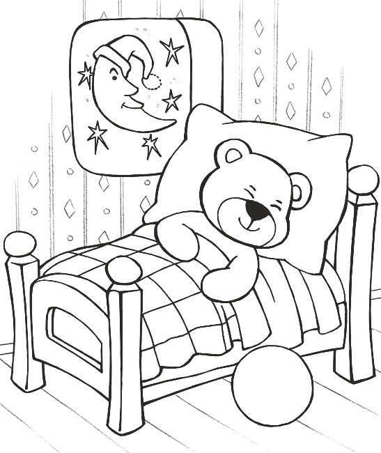 Teddy Bear Sleeping Coloring Pages Teddy Bear Coloring Pages Kidsdrawing Free Coloring Pages Teddy Bear Coloring Pages Bear Coloring Pages Sleep Teddies