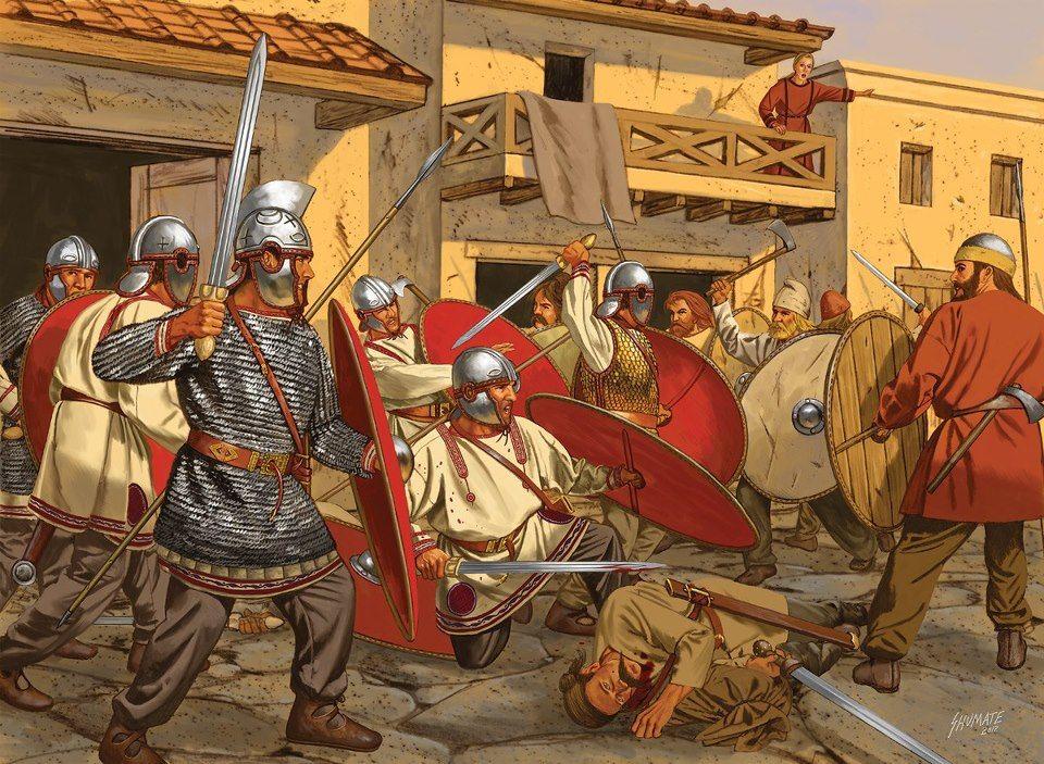 Evolution of the Roman Military