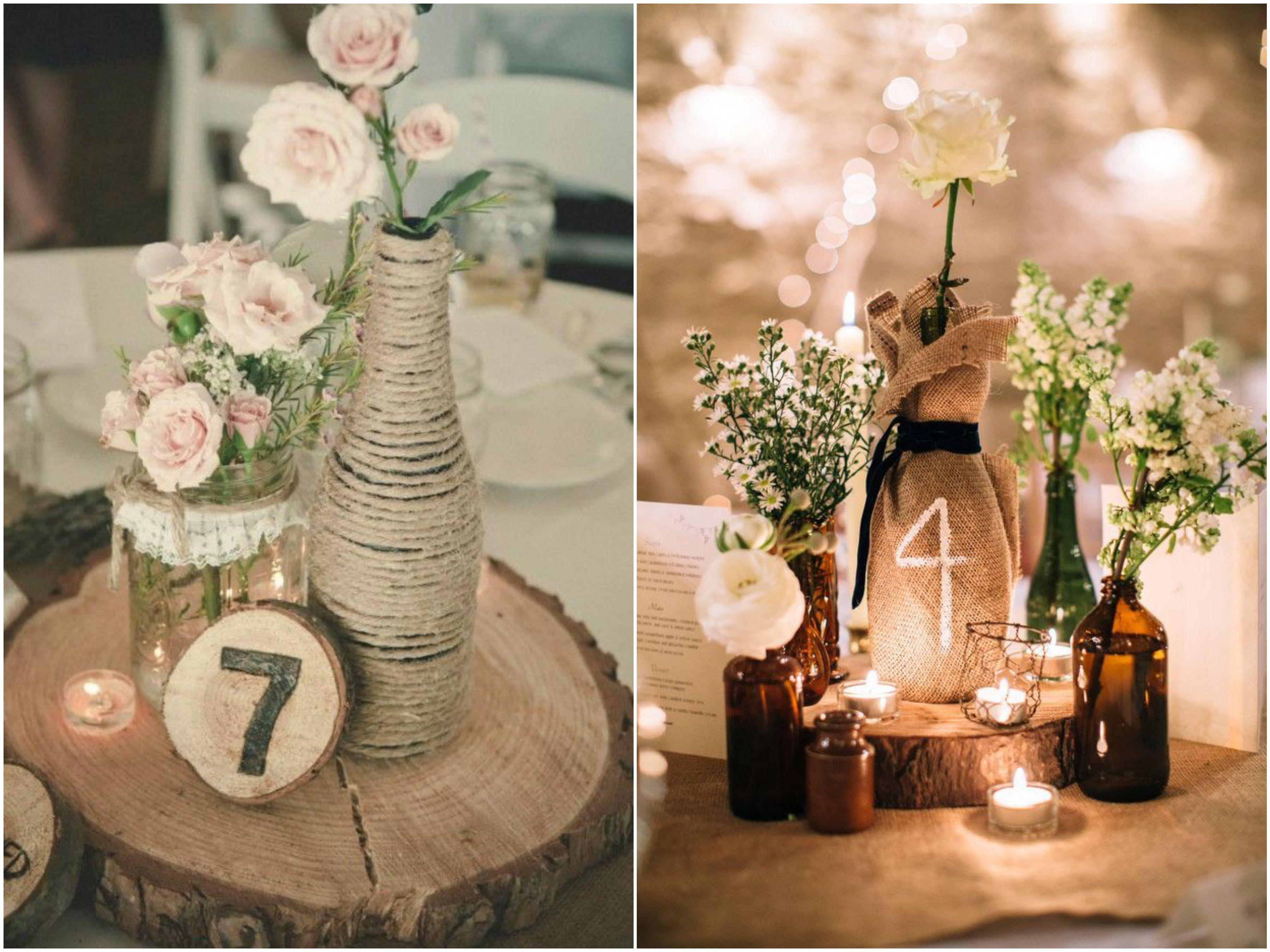 Amado Decoração de Casamento Rústico : 10 itens essenciais! | Themed  AA79