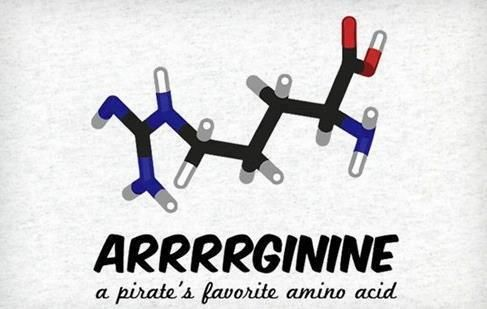 a pirate's favorite amino acid!