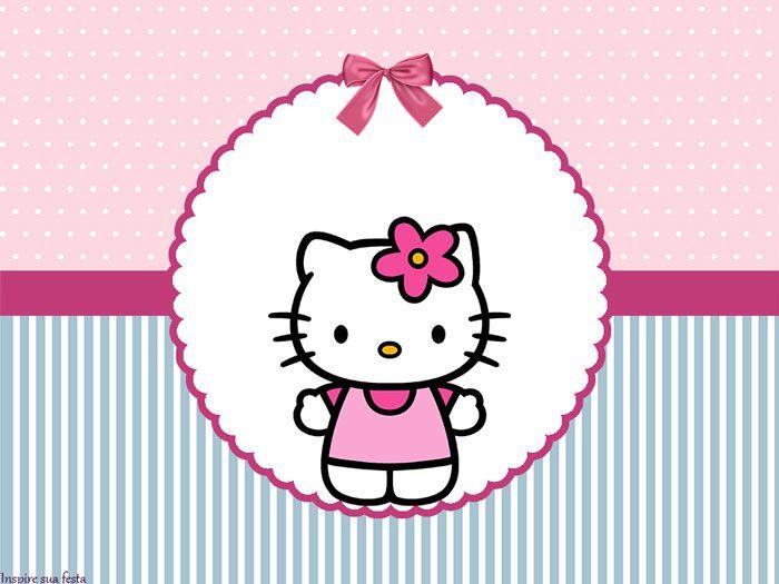 Invitaciones de hello kitty personalizadas gratis