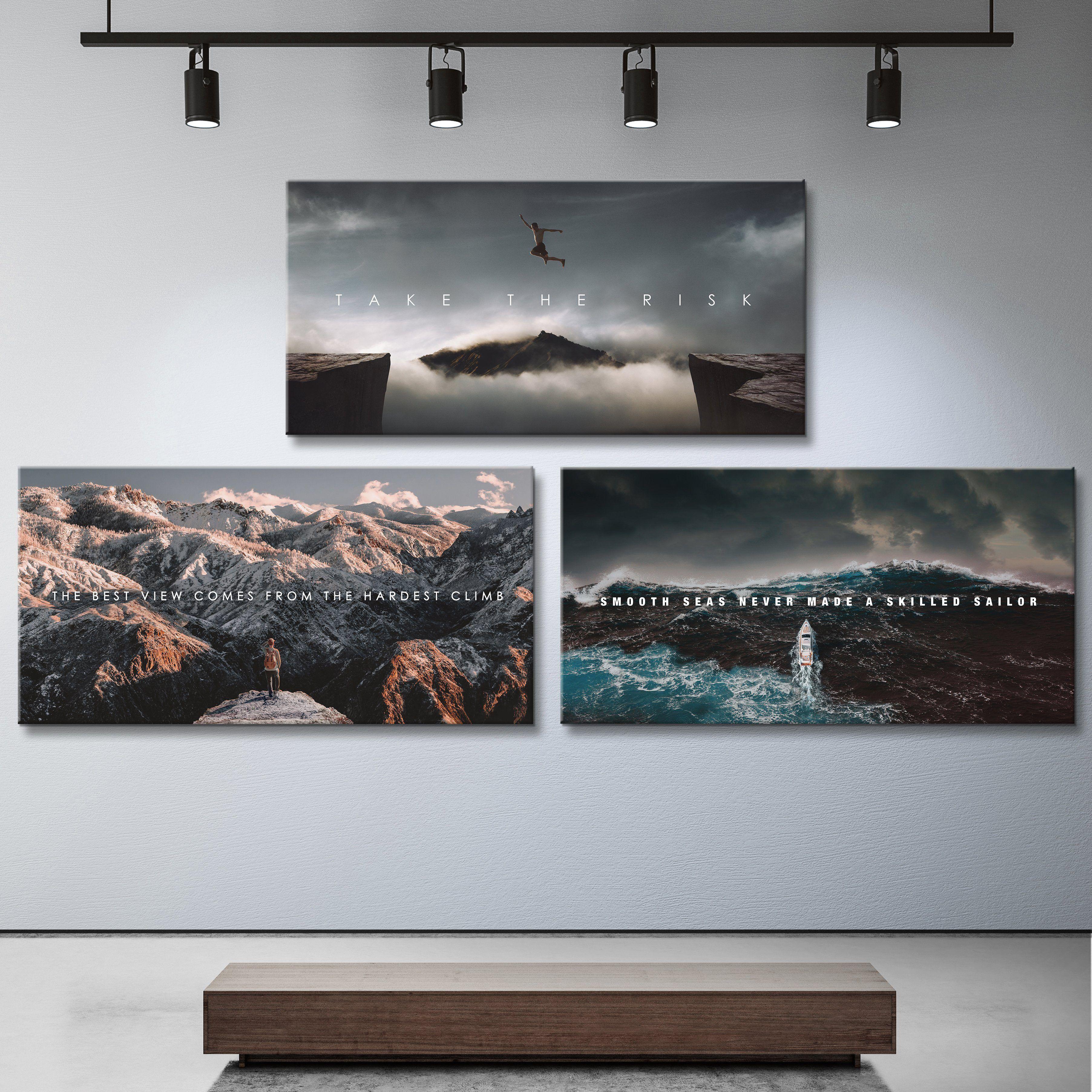 Inspirational Nature Bundle In 2021 Canvas Art Inspirational Canvas Art Nature Wall Art