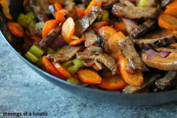Beef Stir Fry Recipe From Cravings Of A Lunatic Try Anything Once Recipe Leftover Beef Leftover Roast Beef Recipes Beef Stir Fry