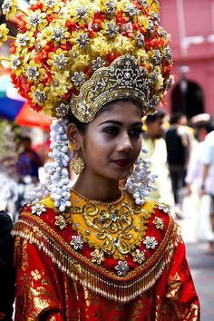 Malaysia Asia Women Of The World Culture Costumes Traditionnel