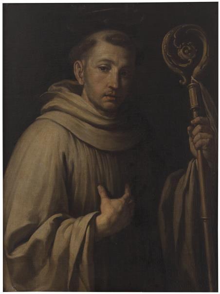 San Bernardo Abad //  Siglos XVII - XVIII // Acisclo Antonio Palomino y Velasco…
