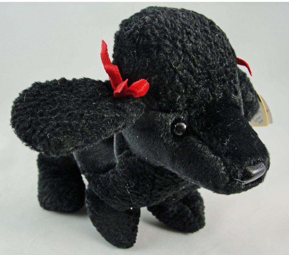 e5f4a849077 Ty Beanie Baby GIGI the Black Poodle Dog 6.5