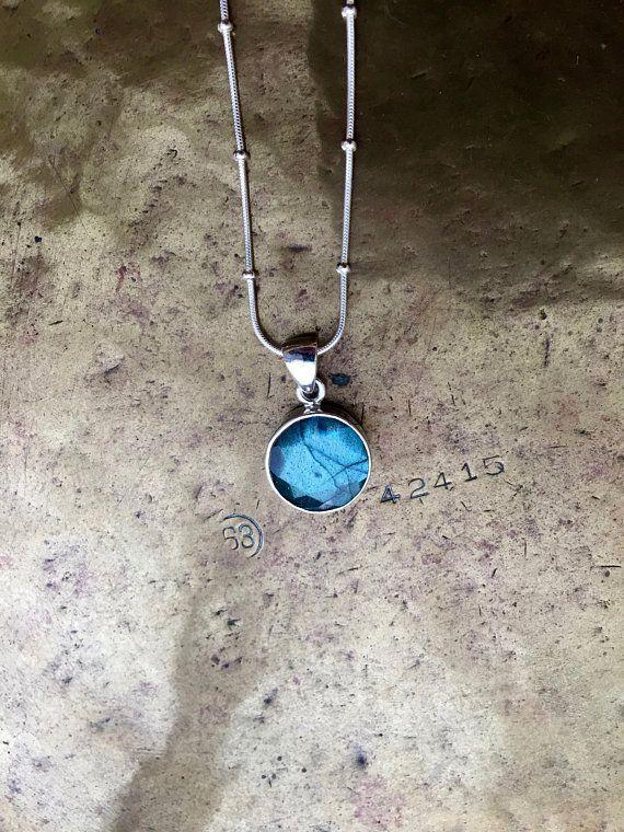 Mystical green blue genuine canadian labradorite pendant mystical green blue genuine canadian labradorite pendant aloadofball Choice Image